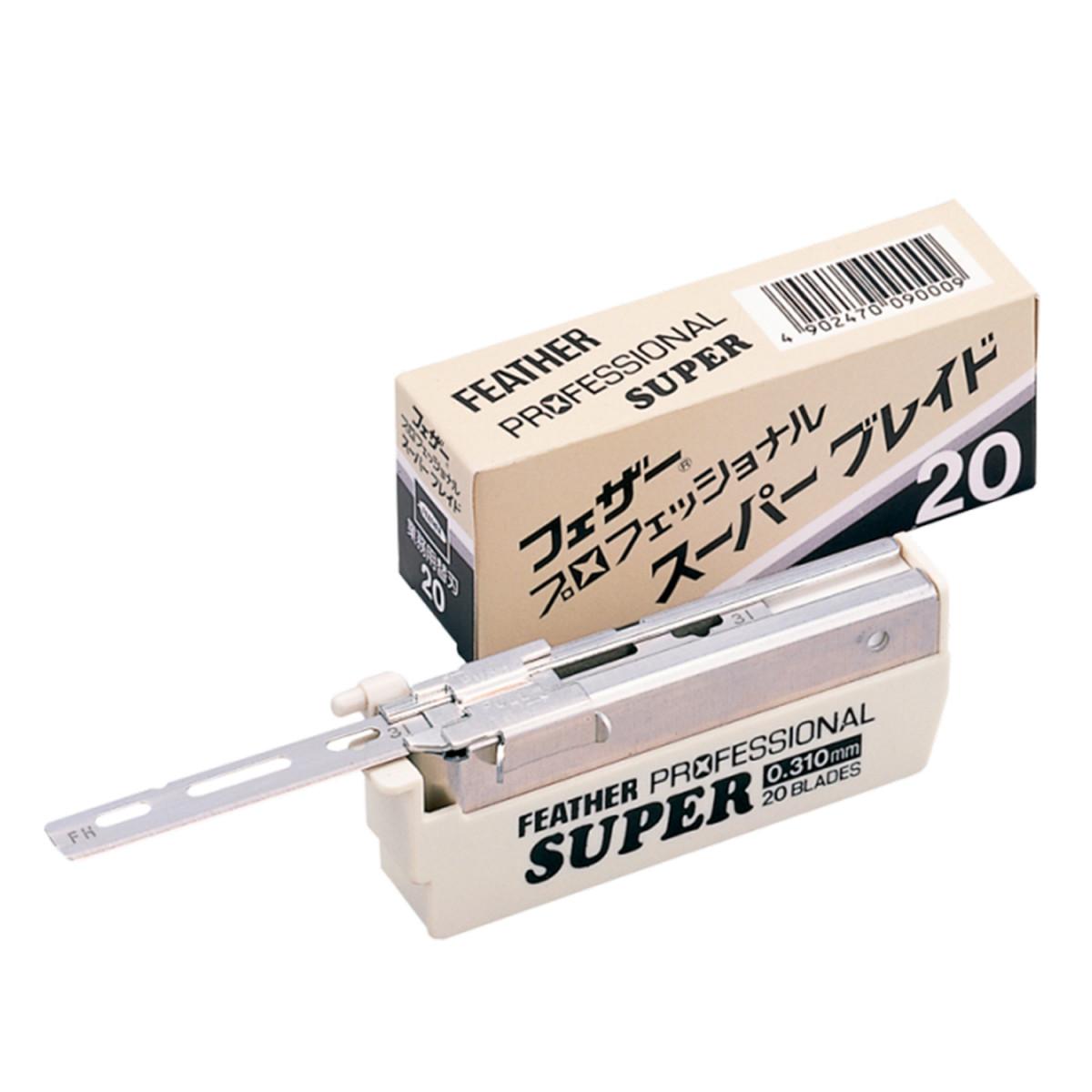 Сменные лезвия Feather Professional Super, SE, 20шт