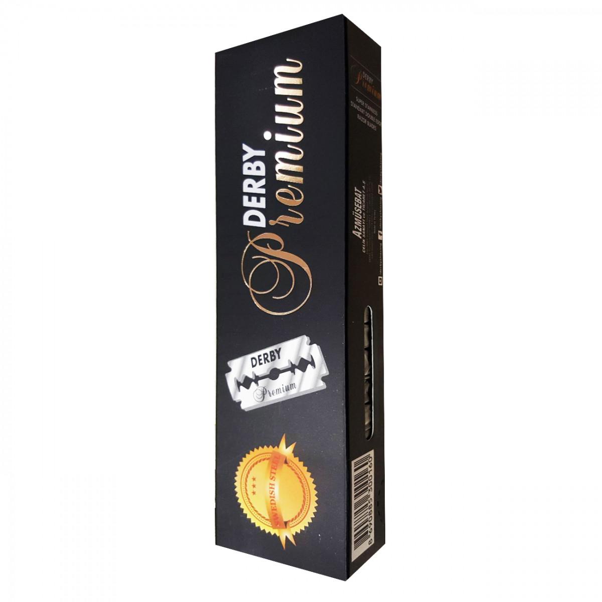 Сменные лезвия Derby Premium black, 100 шт.