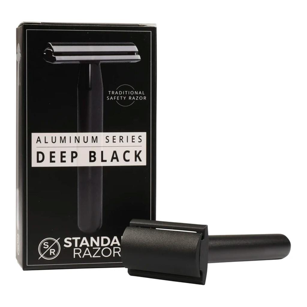 Т-образная бритва STANDARD Razors, closed comb, алюминий, чёрный
